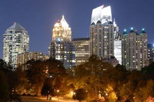 Paikasta toiseen Atlantassa
