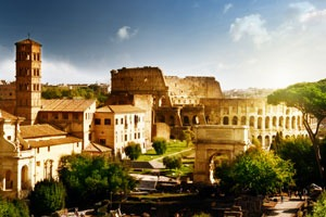 Suurella tunteella Roomassa