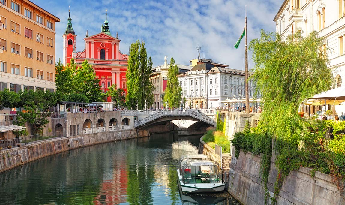 Slovenian Ljubljana on nouseva edullinen matkakohde
