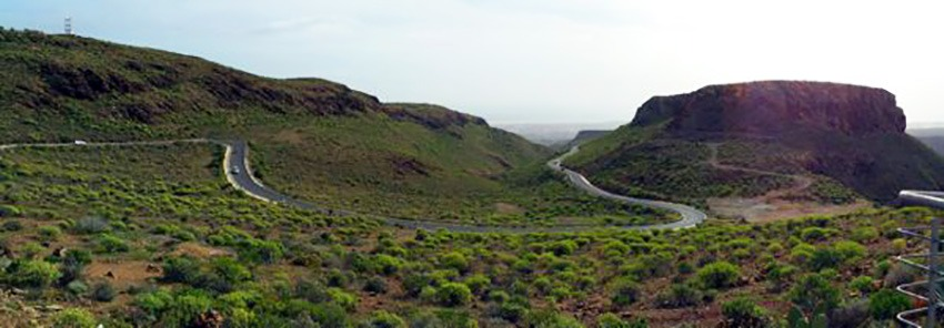 Gran Canarian luonto on monimuotoinen ja kaunis