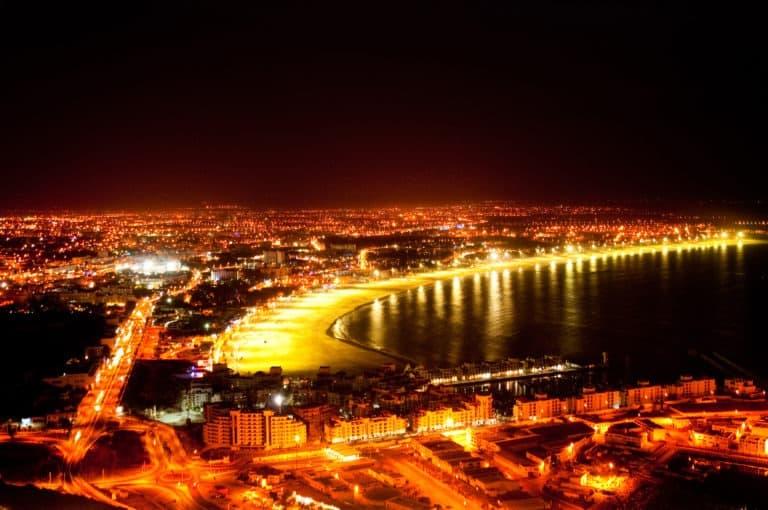 Agadir yö ranta