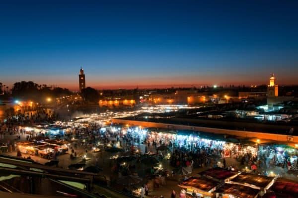 Marrakech Jemaa el-Fna tori