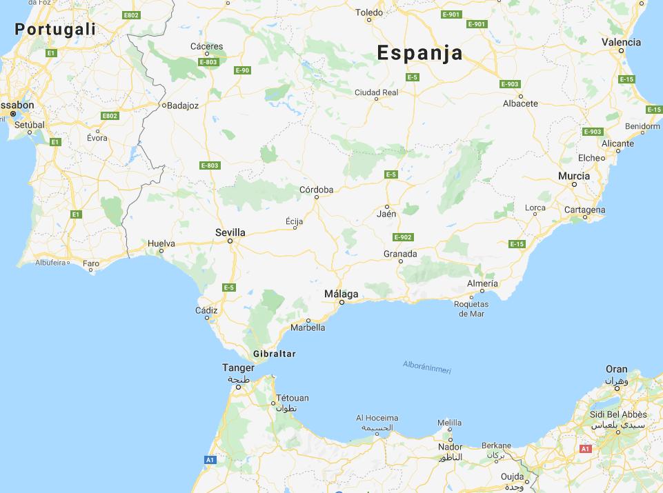 Costa del Soliksi kutsutaan rannikkoa Malagan molemmin