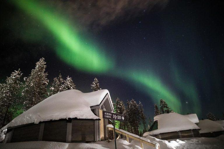 Saariselkä Finlanda Lapland Northern Lights Aurora Borealis
