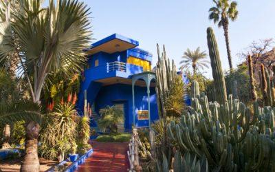 marrakech jardins Majorelle