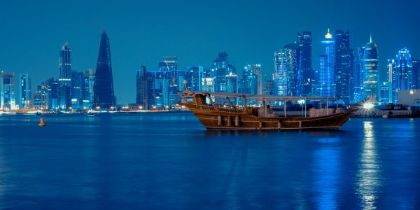 photo doha night